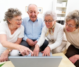 older people & the web