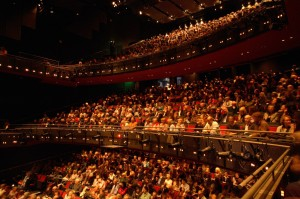 Image of an audience at Sadler's Wells